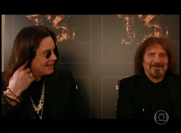 Fant:: Ozzy Osbourne cumpre promessa e volta ao Brasil com Black Sabbath